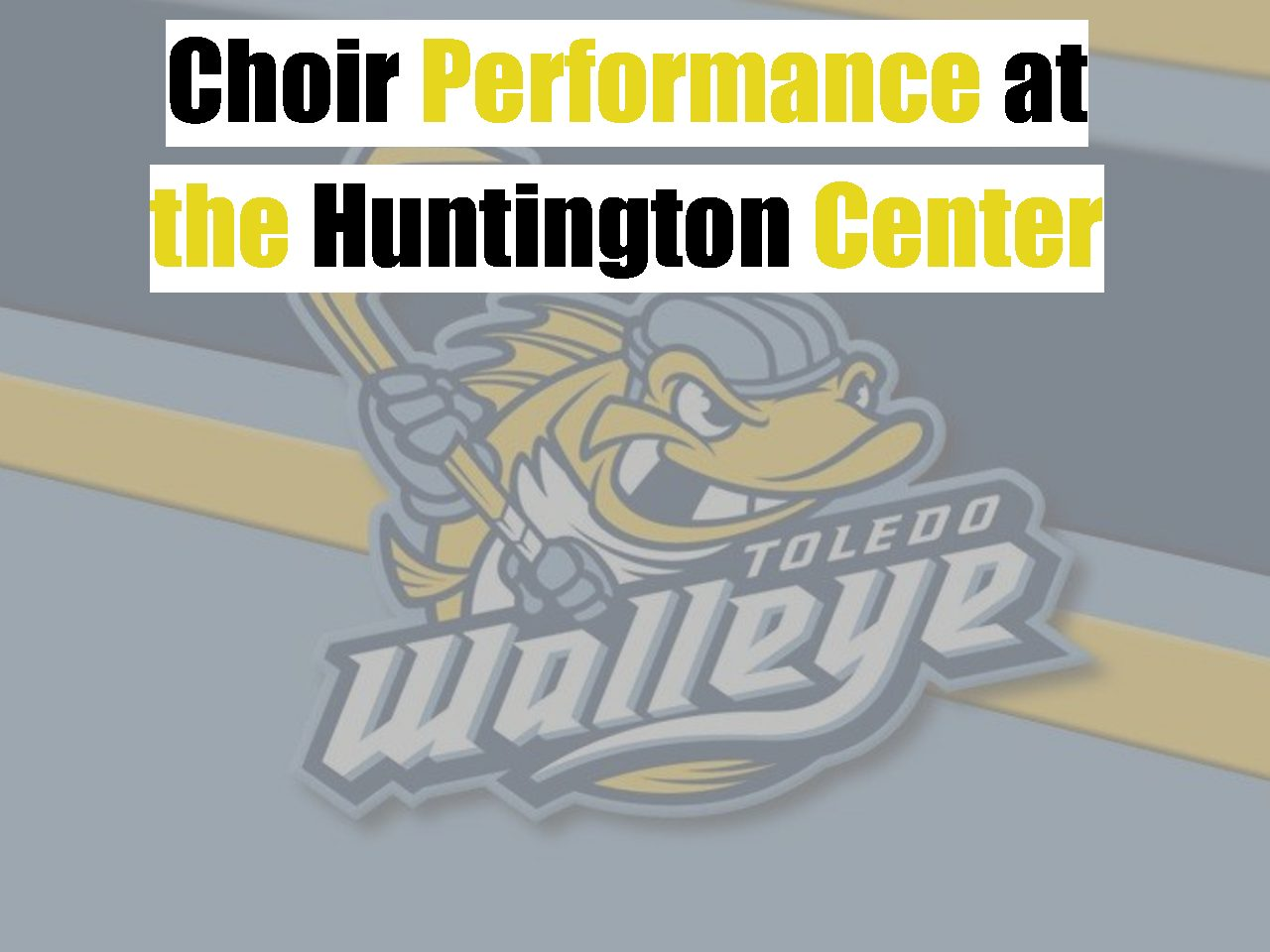 Choir Performance at The Huntington Center